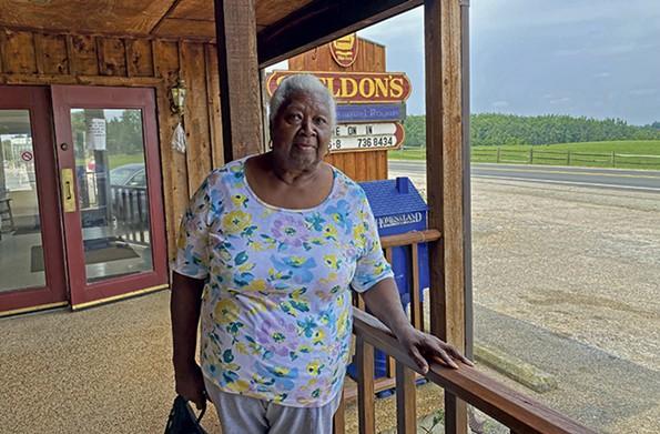 Southside Virginia native Kathleen Boulding Stewart, at Sheldon's Restaurant, lived in the Bronx before returning home. - SCOTT ELMQUIST