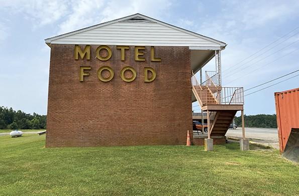Sheldon's Motel on Route 360. - SCOTT ELMQUIST