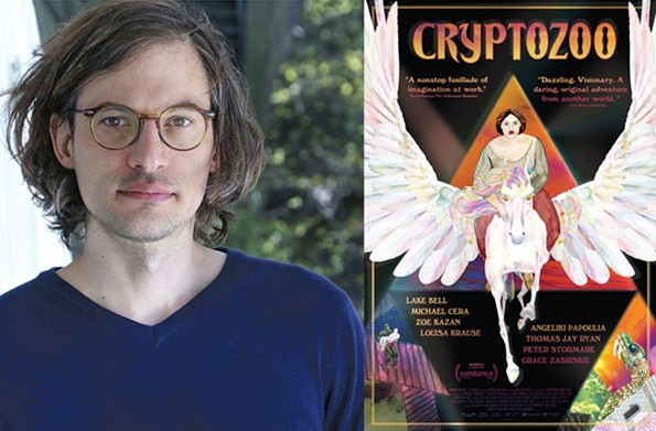 """Written and directed by Dash Shaw (pictured), """"Cryptozoo"""" utilizes the voice talents of actors Michael Cera, Lake Bell, Zoe Kazan, Peter Stormare and Grace Zabriskie, known for her work in David Lynch films."""