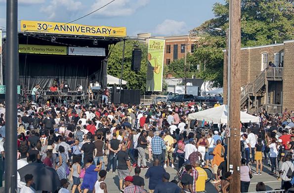 Second Street Festival