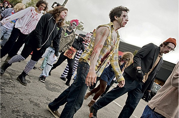 Richmond Zombie Walk - ASH DANIEL/FILE