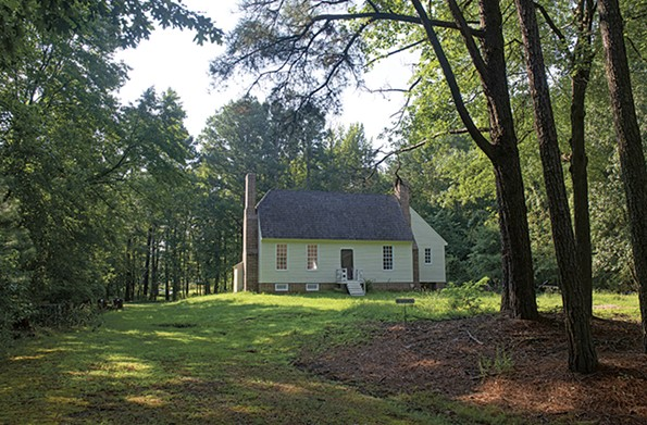 The birthplace of the fifth U.S. president, James Monroe, has recently been rebuilt on its original foundations and is the newest attraction in Colonial Beach. - SCOTT ELMQUIST