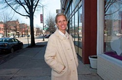 Katie Ukrop, owner of Quirk Gallery, is packing up for the move to the new Quirk Hotel and Gallery.
