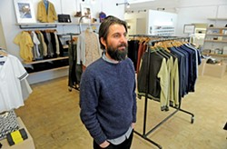 Need Supply Co. Creative Director Gabriel Ricioppo. The company is looking to expand into some major fashion cities.