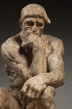 """The Thinker"" - THE VIRGINIA MUSEUM OF FINE ARTS"