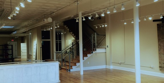 A view inside the space at Shockoe Bottom Clay. Photos provided by the owners.