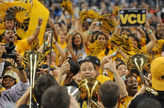 He's led VCU's wildly popular pep band, the Peppas, for 18 years. Now Ryan Kopacsi and the university are parting ways -- at least, that's how things seem for now. - SCOTT ELMQUIST / FILE