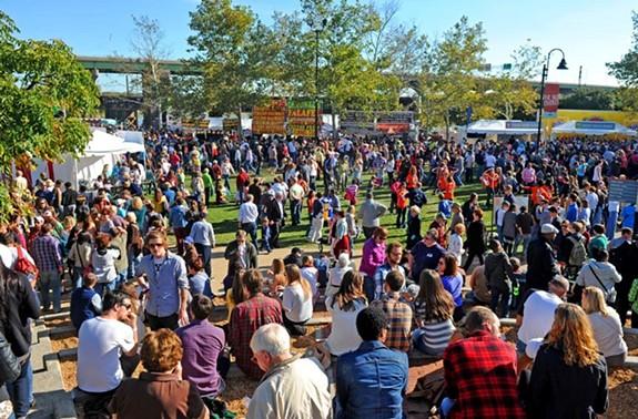 One of Venture Richmond's most popular events is the Richmond Folk Festival. - SCOTT ELMQUIST
