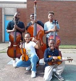 Rising Chimborazo music students.