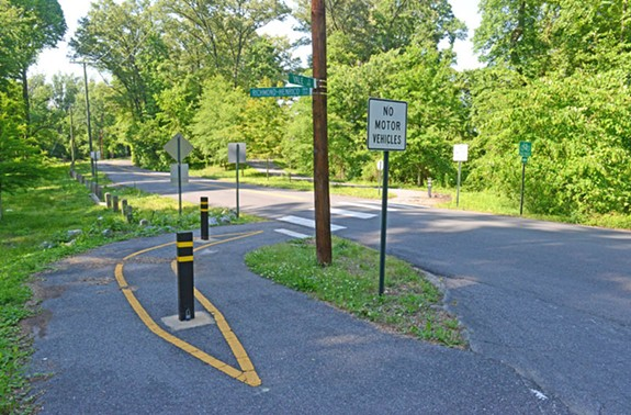 The Cannon Creek Greenway, a separate bike and pedestrian path completed in 2015, starts at Valley Road. It joins the Richmond-Henrico Turnpike near Craigie Avenue. - SCOTT ELMQUIST
