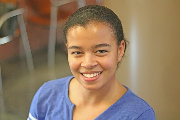 Elise Tolliver, a pre-medical student at VCU - CHARLOTTE RENE WOODS