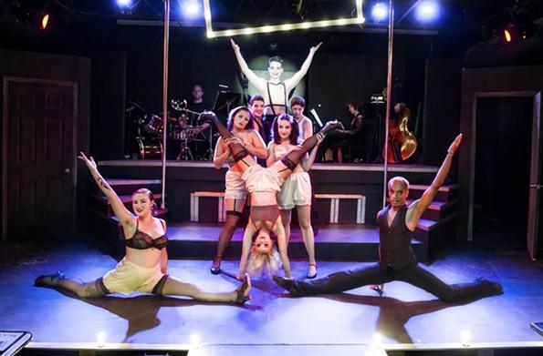 "Richmond Triangle Players' summer 2014 run of ""Cabaret."" - JOHN MACLELLAN"