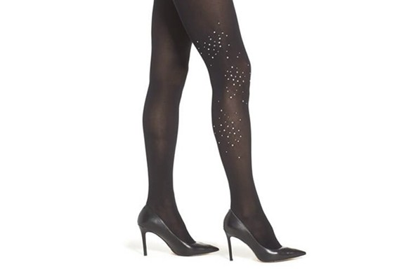 Rhinestone cluster tights from Nordstrom - NORDSTROM.COM