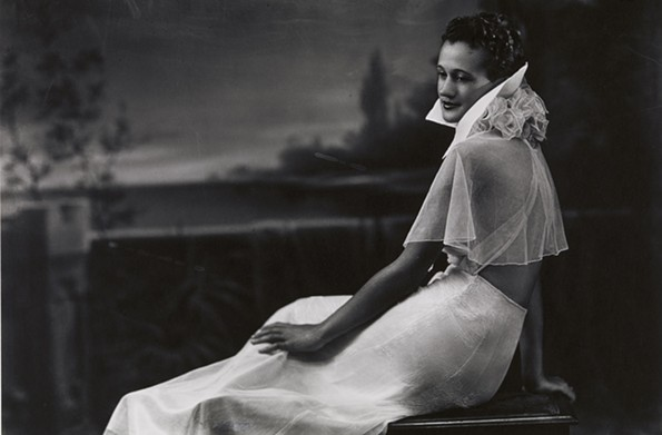Mildred Hansen Baker, 1937, photograph by Prentice Herman Polk. - VIRGINIA MUSEUM OF FINE ARTS. ADOLPH D. AND WILKINS C. WILLIAMS FUND
