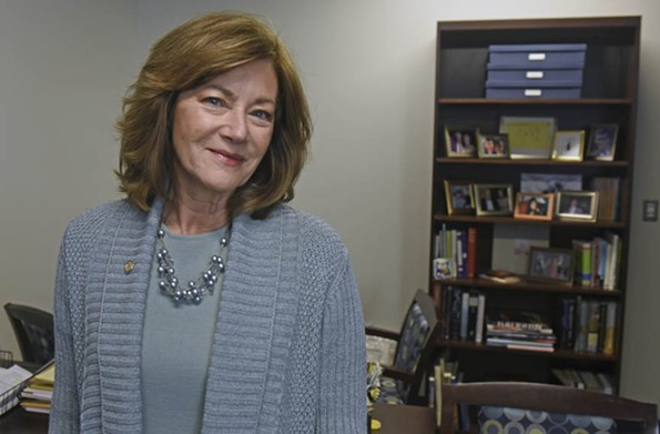 "Margaret ""Margi"" Vanderhye, a former state delegate from Northern Virginia, is executive director of the Virginia Commission for the Arts, where she oversees a vital flow of operating money to arts groups across the Commonwealth. - SCOTT ELMQUIST"