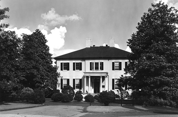 The Executive Mansion - RICHMOND CHAMBER OF COMMERCE COLLECTION, THE VALENTINE
