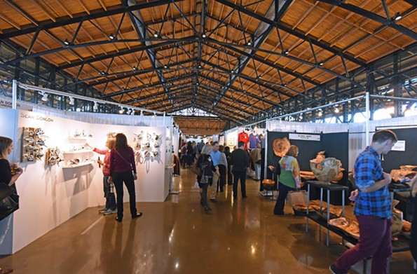 The Craft and Design show, presented by the Visual Arts Center of Richmond, attracted 10,000 visitors to Main Street Station in November. - SCOTT ELMQUIST