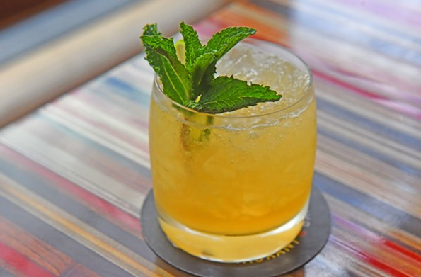 Booze-free cocktails like the Dry Thai are available at Nota Bene. - SCOTT ELMQUIST