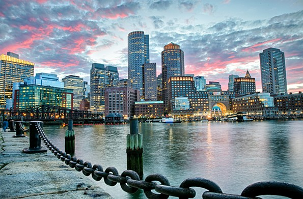 Boston Harbor - GREATER BOSTON CONVENTION & VISITORS BUREAU