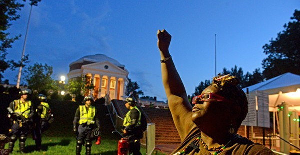 Lessons Learned: One year later in Charlottesville, protesters and police take center stage