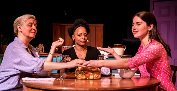 """Richmond Triangle Players' """"Seven Homeless Mammoths Wander New England"""" is smart and entertaining"""