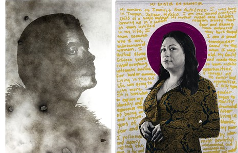 This year's Unbound 7 fundraiser at Candela explores the portrait