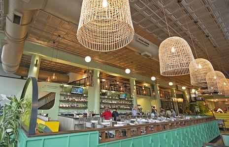 评论:酒吧孤单为艺术区的餐厅带来了另一个缺口。