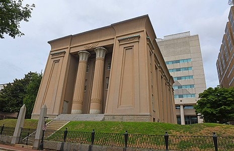 Egyptian Revival Treasures in Richmond