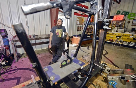 Richmond's Engine and Frame Motorcycle Repair Shop Becomes a Community Hangout