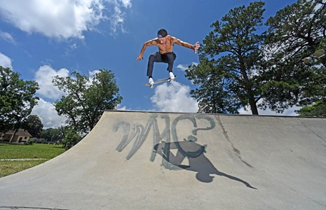 Richmond Skaters Are Building a Concrete Haven at Texas Beach. And For Once, the City's on Their Side.