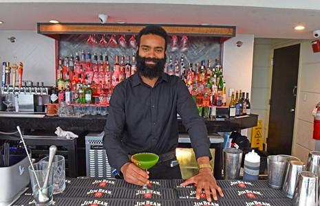 Richmond Bartender Challenge: Kale Salad, by Nasim Siafullah