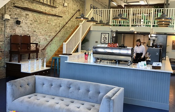 Ironclad Coffee Roasters is now open in Shockoe Bottom.