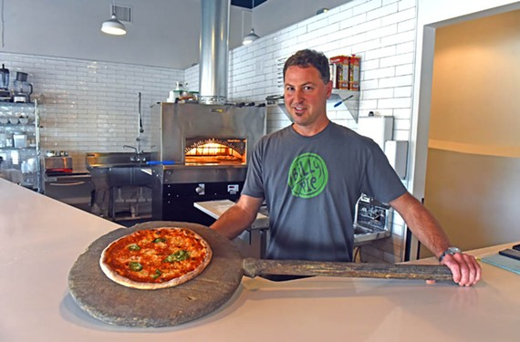 Billy Fallen just opened his latest venture, Billy Pie,  at Three Chopt Road and Patterson Avenue.