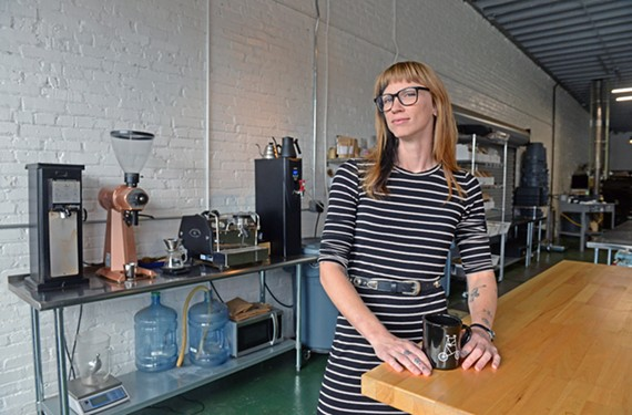 Noelle Archibald, co-founder of Lamplighter Coffee Roasters, wants servers to be both knowledgeable and confident behind the counter.