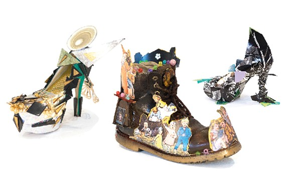 Shoes by Elissa Rumford, John T Crutchfield and Charles Sharp