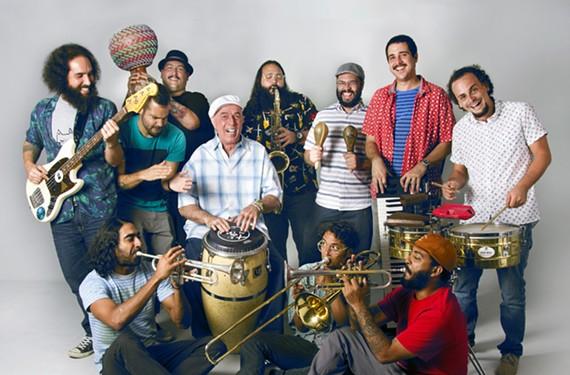 Orquesta el Macabeo has drawn comparisons to the transgressive Richmond salsa band Bio Ritmo.