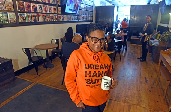 Urban Hang Suite started serving coffee, sandwiches and discussion last week.