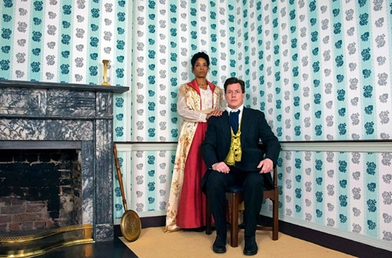 "Katrinah Carol Lewis and Landon Nagel star in TheatreLab's ""A Doll's House,"" which runs from Dec. 6 to Dec. 22 at the Basement."