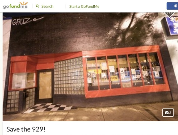 A screenshot of the Go Fund Me page to save 929 W. Grace St.
