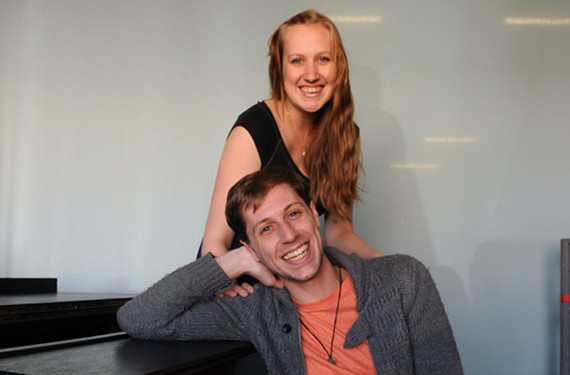 Local actors Matt Shofner and Maggie Roop are hoping to appeal to folks with Ghost Light After Party's loose, open mic nights at TheatreLab's the Basement.