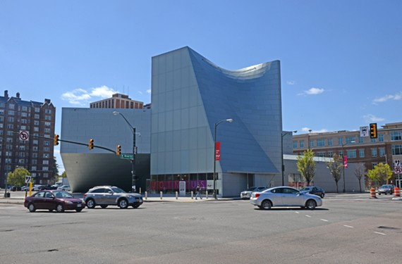 The Institute for Contemporary Art at Virginia Commonwealth University opened on April 21.