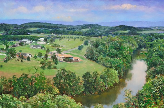 """""""Home on the North Fork, Overlook at the New Market Battlefield"""" by Andrei Kushnir"""