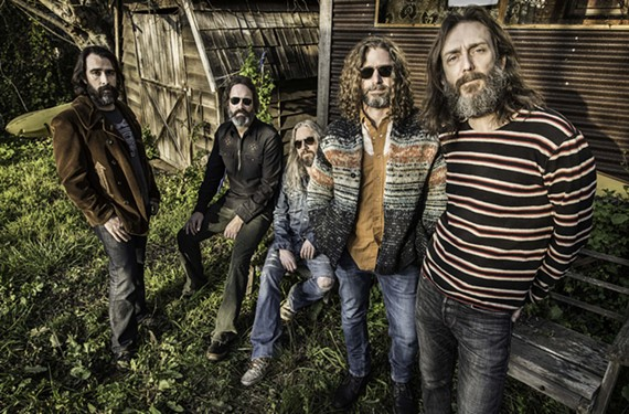 "The Chris Robinson Brotherhood featuring the guy who sang Otis Redding's ""Hard to Handle"" for the Black Crowes."
