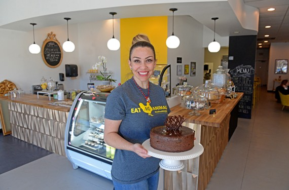 Halini Brune opened Mind Your Belly Deli, an entirely vegan eatery in Short Pump, at the end of January