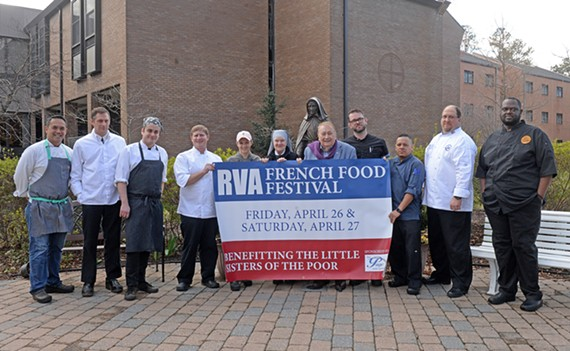 Richmond chefs, including former La Petite France Paul Elbling, will prepare dishes for the upcoming French food festival.