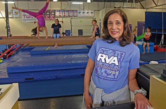 Lisa Cain opened Twist Gymnastics in 2010, and on April 14 the gym will host its first statewide invitational.