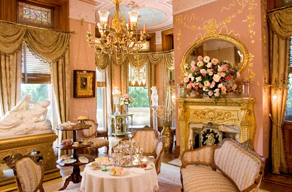 Maymont's pink drawing room.