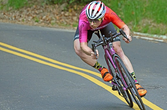 Brantley Tyndall has shifted his training regimen to prepare for weeks of all-day biking.
