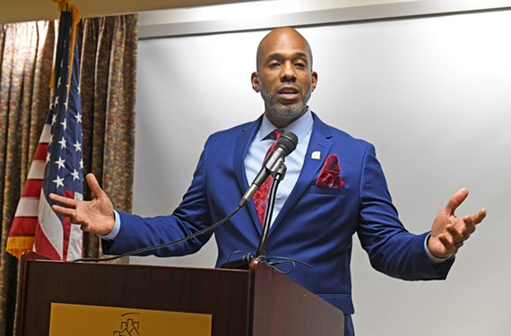 At the start of his seventh week on the job, the Richmond Redevelopment and Housing Authority's chief executive, Damon Duncan, held a news conference to discuss his plans for the agency.