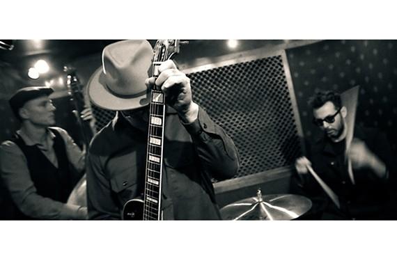 The Brooklyn trio, Big Lazy, featuring guitarist Stephen Ulrich.
